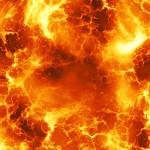 【速報】巨大火柱、立つ